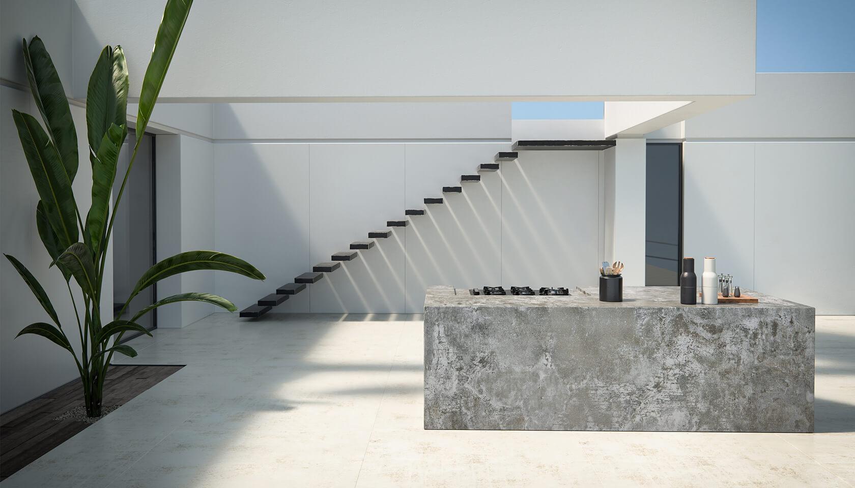 schody na zewnątrz